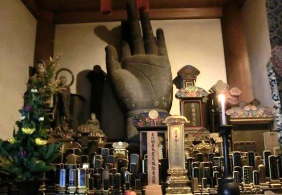 東福寺大仏の手1