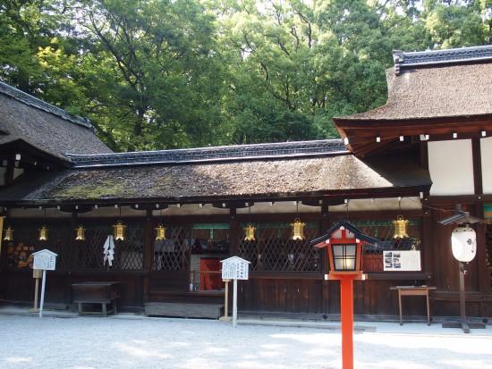 下鴨神社の河合神社にある任部社