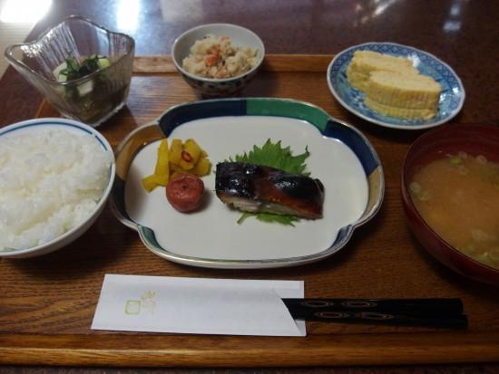 ろじうさぎの京の朝ごはん。