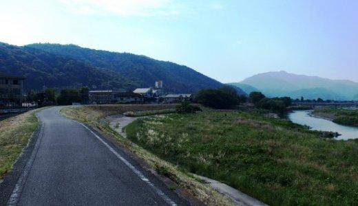 自転車で嵐山。この道を通らないでどこを通る?桂川サイクリングロード