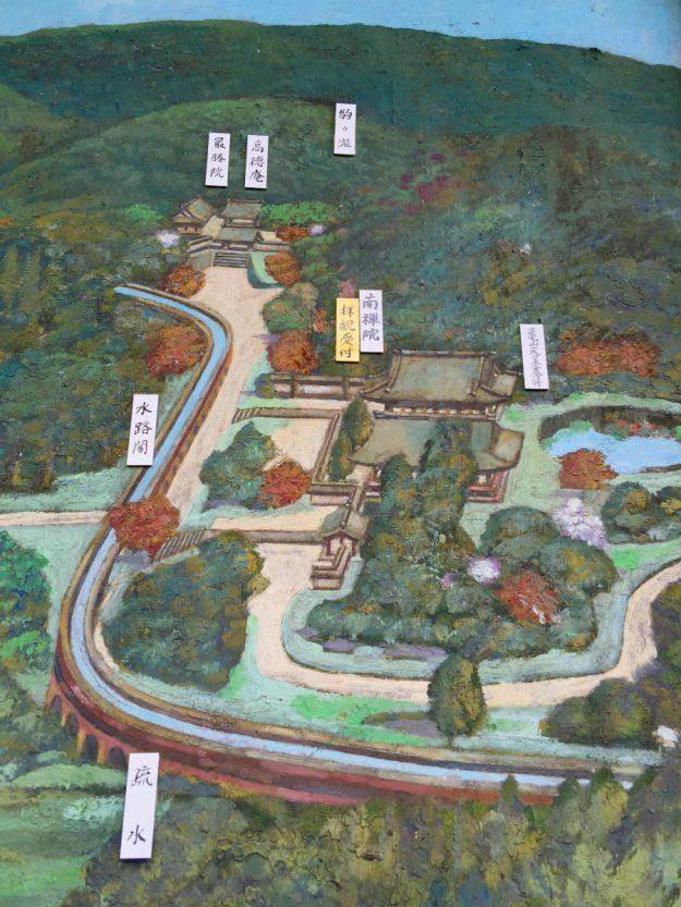 お寺の境内案内図にもしっかり記されていました。