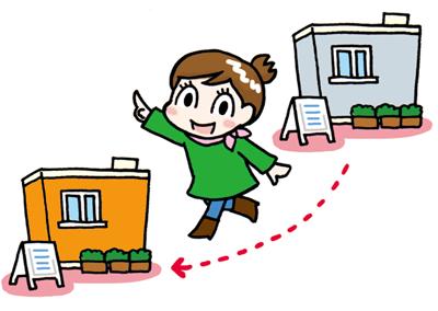 他店舗での返却ができるので、京都駅エリアと繁華街エリアの行き来もラクラク!