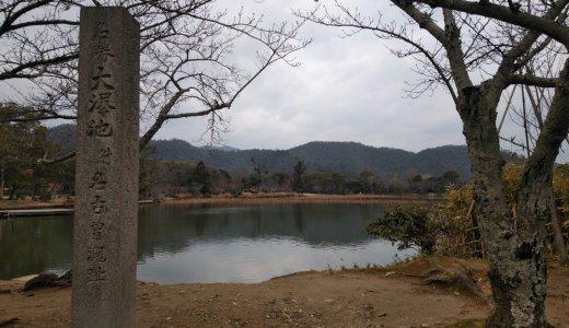 日本最古の林泉:大沢池(大覚寺)