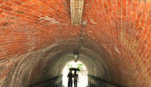 吸い込まれるような不思議なトンネル「ねじりまんぽ」