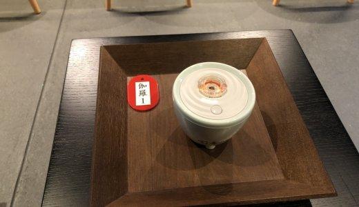 お茶と一緒に聞香体験:鳩居堂(聞香処)