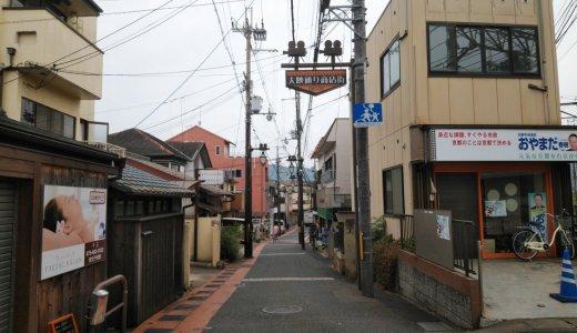 映画のまちのシンボル大魔神:大映通り商店街(右京区)