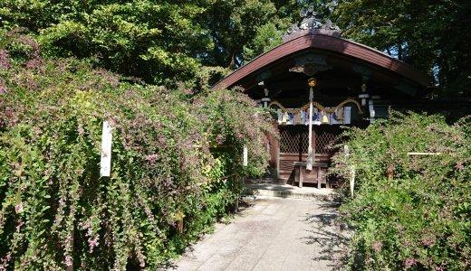 京都を代表する萩の名所【梨木神社】