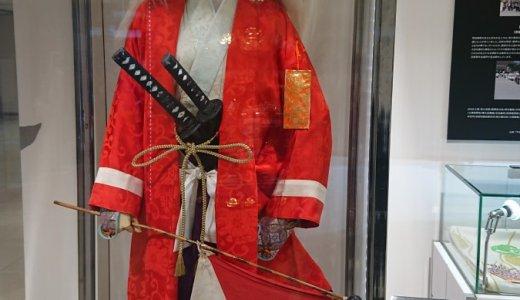 時代祭の装束展示 大丸京都店