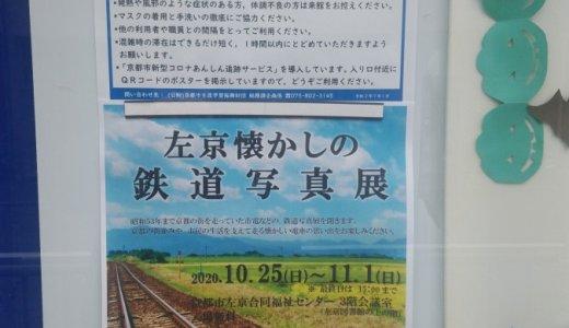 地域の施設で市電・叡電写真展(京都市左京合同福祉センター)